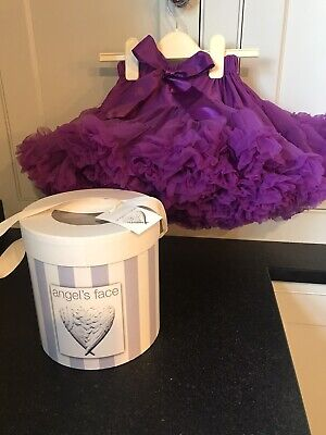 Algels Face Girls Tutu Party Skirt Worn Twice Age 1-3 Years.