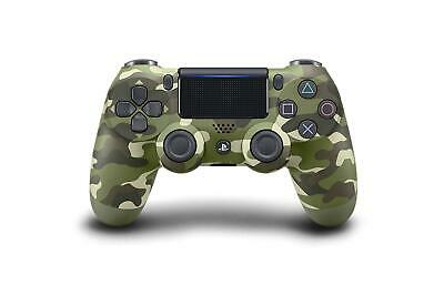 Sony Official PlayStation 4 -Dualshock 4 Controller Green Camouflage (Brand New)