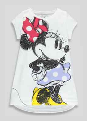 BNWT Matalan Girls Minnie Mouse Disney Nightie Christmas age 7 (QB)