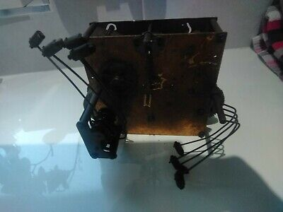 Antique or Vintage Mechanical Clock Movement with repeaters