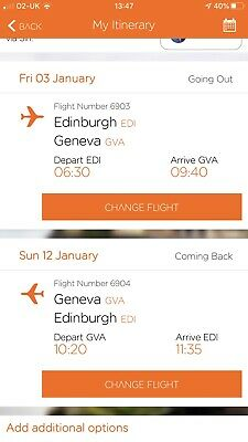 Easy Jet Flights For 8 Persons And Ski Insurance For 8 Persons