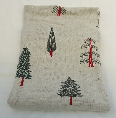 Tk Maxx Queenwest Cotton Christmas Tree Throw