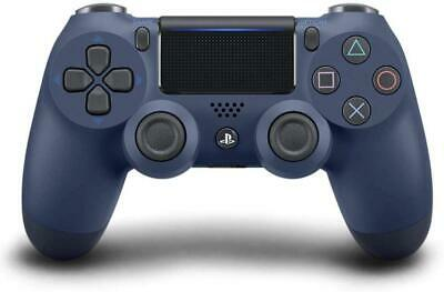 Sony Official PlayStation 4 - Dualshock 4 Controller - Midnight Blue (Brand New)