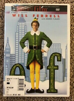 Elf (DVD, 2004) Will Ferrell - Brand New!!!