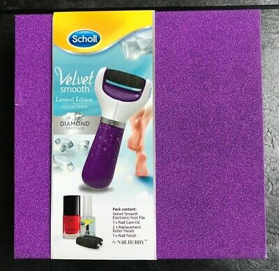 Scholl Velvet Smooth Limited Edition Collection Gift Set. Purple Electronic File