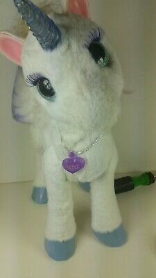 FurReal Friends StarLily My Magical White Unicorn Moves Noises Lights Up