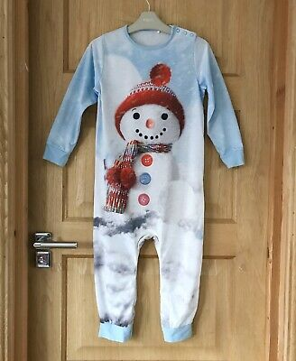 NEXT *5-6y GIRLS BEAUTIFUL XMAS PYJAMA  Xmas NIGHTWEAR AGE 5-6 YEARS VGC