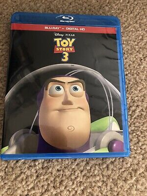Disney Pixar Toy Story 3 (Blu-Ray and Case Only) No Digital