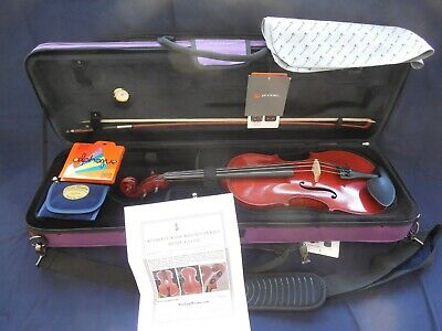 FRENCH 4/4VIOLIN LEON BERNARDEL WORKSHOP1900s SET WITH FRENCH BOW READY TO PLAY