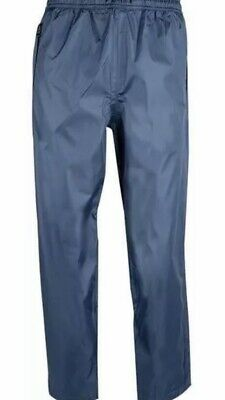 """HIGHLANDER WJ011 TEMPEST WATERPROOF BREATHABLE TROUSERS BLUE 36-40/"""" XL"""