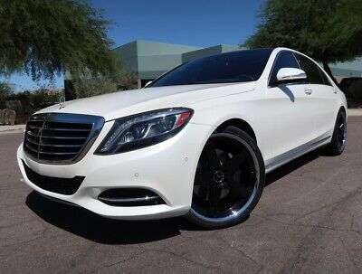 2014 Mercedes-Benz S-Class S550 4Matic Premium Package Pano Roof Driver Assistance Burmester Sound 2015 2016 S550