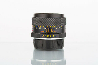 Yashica DSB 28mm f/2.8 vintage wide angle lens Contax/Yashica C/Y mount