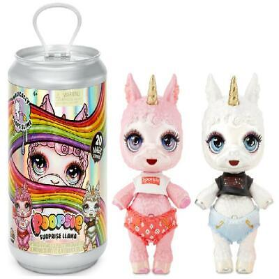 """Poopsie Slime Surprise Llama: Bonnie Blanca Or Pearly Fluff, 12"""" Doll With 20+ M"""