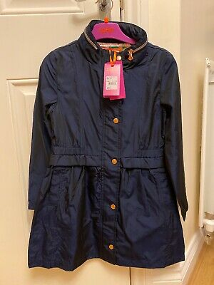 BNWT GIRLS TED BAKER LIGHTWEIGHT PARKA COAT WITH HOOD. Age 10