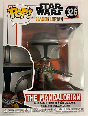 Star Wars THE MANDALORIAN #326 FUNKO POP - NEW - SOLD OUT -