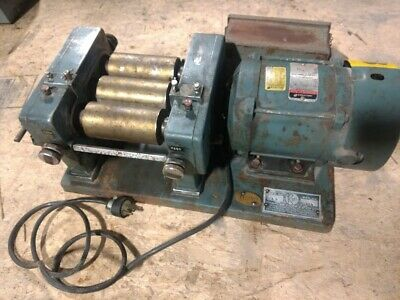 "ROSS model 52M 2.5"" x 5"" three roll mill"