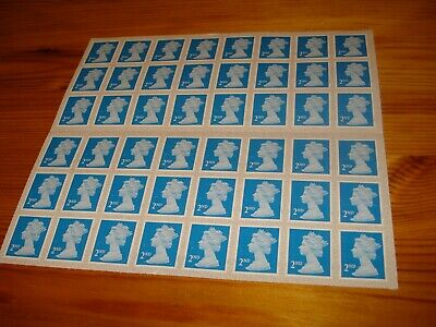 48 ROYAL MAIL 2nd CLASS LETTER SELF ADHESIVE POSTAGE STAMPS P&P FREE
