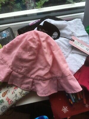 Two Marks & Spencers Little Girls 2-4 Years Pretty Sunhats BNWT