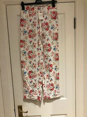 Fabulous Cath Kidston Floral Pyjama Bottoms. Brand New XS. Perfect And Cosy