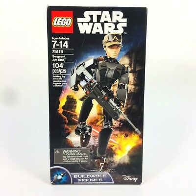 LEGO Star Wars Rogue One Sergeant Jyn Erso Buildable Action Figure - 75119