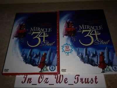 Miracle On 34th Street - Inc Colour & Black and White (DVD, 2006)