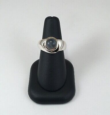 Moonlight Stone Sterling Silver Ring - Size 6.75