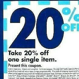 Bed Bath Beyond 20% off one single item Exp 1/6/2020