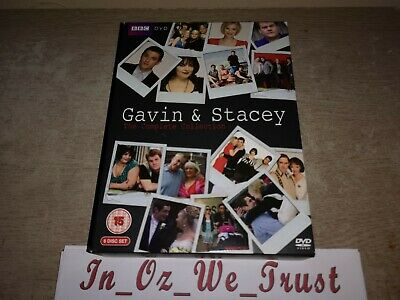 Gavin And Stacey: Series 1-3 & 2008 Christmas Special (DVD, 6-Disc Box Set)