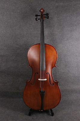 4/4 full size cello Vintage Painting Hand Made Cello ebony Fittings Maple spruce