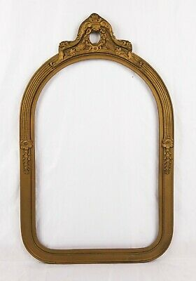 Antique 19th C Victorian Aesthetic Gold Gilt Gesso Picture Frame Fits 18x12