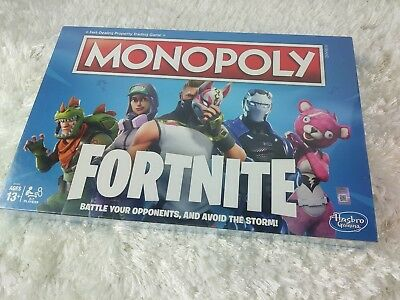 Fortnite Hasbro Monopoly Board Game Limited Edition New Factory Sealed  JM1