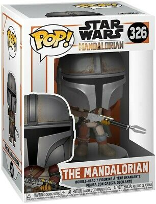 Funko POP! Star Wars #326 The Mandalorian - The Mandolorian Vinyl Figure
