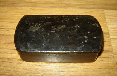Rare Old Antique Russian Imperial 19c papier mache SNUFF BOX