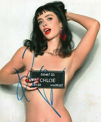 Autographed Krysten Ritter signed 8 x 10 photo