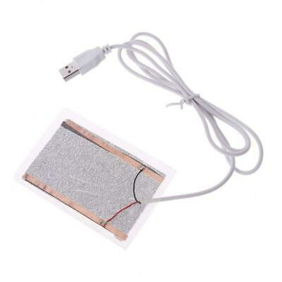 5V Portable USB Heating Heater Winter Warm Plate For Shoes Gloves Mouse Pad Mat