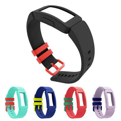 for FitBit Inspire Ace 2 Silicone Watch Band Loop Wristband Strap Replacement