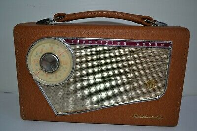 Vintage  and very Collectable AWA Radiola 117PV 7 Transistor Radio. Restored.