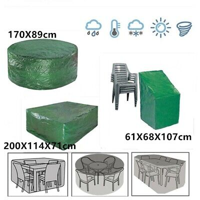 Large Waterproof Outdoor Furniture Cover Garden Patio Rattan Table Cube Covers