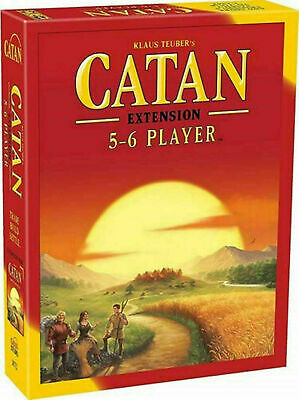 HOT Settlers of Catan Board Game 5th Edition 5-6 Player EXTENSION EXPANSION Pack