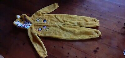 Pudsey bear All In One Onesy Age7-8 122-128cm. VGC