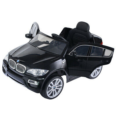BMW X6 Kids Ride On Car Electric 6V Battery Children Remote Control Toy Cars MP3