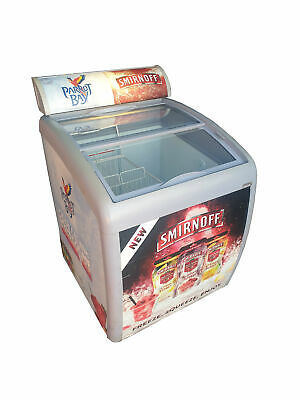 Efficold Commercial Chest Freezer/Compact Display Impulse Sliding Lid Freezer