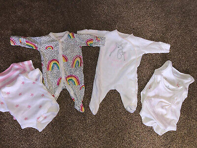 Bundle Next Baby Girl Clothes First Size 7.8lbs VGC