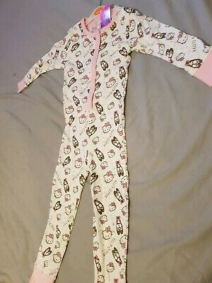 Girls one piece Pyjamas Hello Kitty Me To You Age 4-5 years New with tags