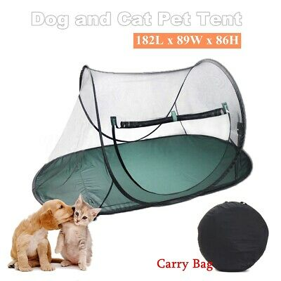Large Pet Cat Dog Playpen Outdoor Portable Exercise Cage Play Tent Fun+Carry