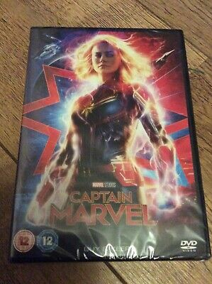 Captain Marvel (DVD, 2019)