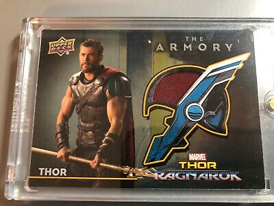 Marvel Thor The Armory Cape Relic Card from Ragnarok Chris Hemsworth AS-1