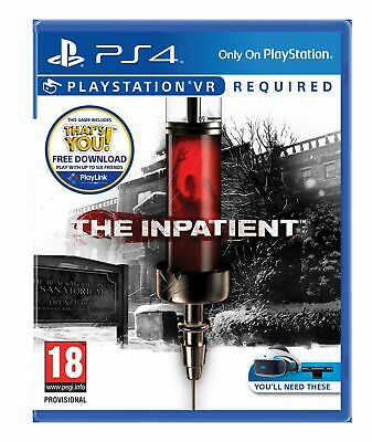 The Inpatient VR (PS4) Brand New & Sealed UK PAL Quick Dispatch Free UK Shipping