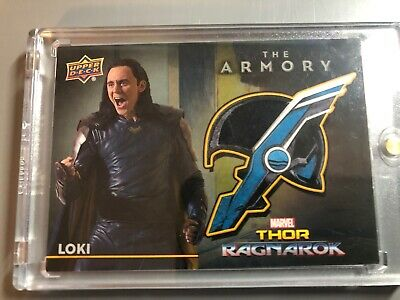 Marvel Thor The Armory Costume Relic Card from Ragnarok Loki AS-5
