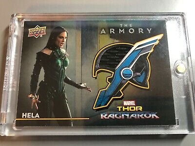 Marvel Thor The Armory Costume Relic Card from Ragnarok Hela AS-14